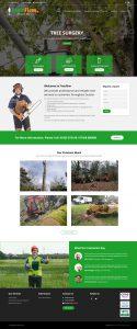 WordPress Theme Developer Tree Surgeon Mobile Responsive
