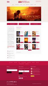 WordPress Custom Theme Development Cinema Booking