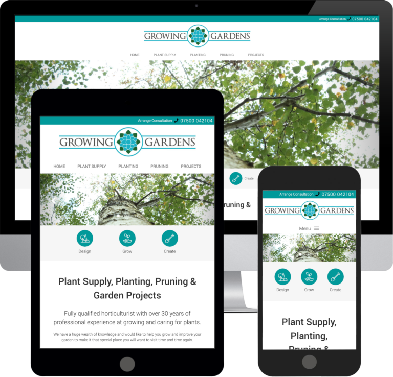 Responsive Mobile Web Design Sussex