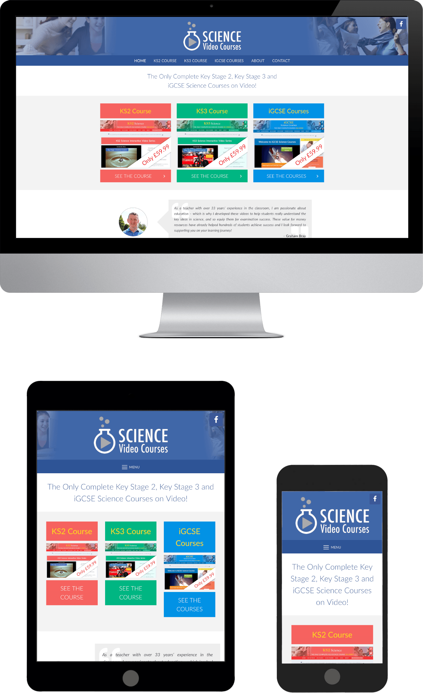 Responsive WordPress Theme Design Science Video Courses